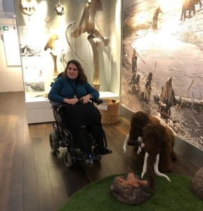 Lucy in the museum