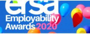 Ersa logo with balloons