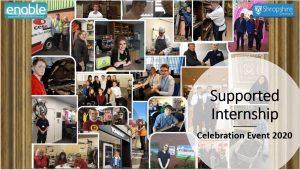 supported internship celebration event cover photo