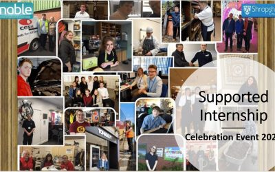 supported internship celebration event cover photo